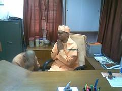 On bengali New Year day 15th April 2007 (6) (HOLY TRIO) Tags: new delhi mission undertaking secretary swami ramakrishna revered shantatmanandaji responcibilites