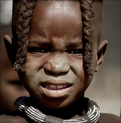 Himba Child (gunnisal) Tags: world africa portrait people colors child faces african culture tribal safari afrika tribe ethnic namibia tribo himba afrique ethnology tribu peopleschoice namibie tribus ethnie ovahimba