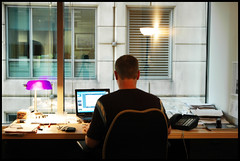 mice eat cheese (jaymce) Tags: life usa chicago self work office illinois desk working ofme walker powerpoint jaymce