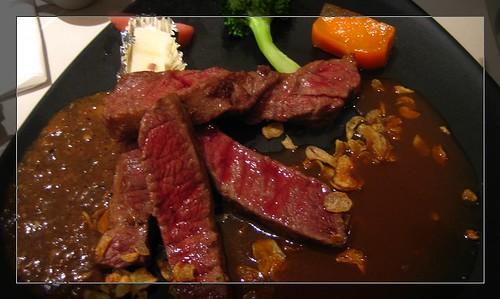 香蒜瓦片牛肉