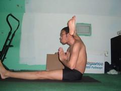 Eka Pada Sirsasana 3 (YogiOdie) Tags: shirtless yoga meditating meditation stretching contortion bendy flexibility flexible stretches stretchy limber ekapadasirsasana frontbend