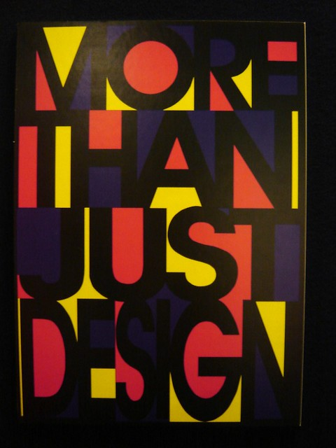 More Than Just Design