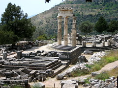 Tholos Ruins at Delphi - 8 (Josh Clark) Tags: ancient ruins delphi greece athena tholos