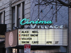 Cinema Village by warsze, on Flickr