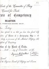 John Farley Seaman - death certificate2 d.1895