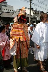 Man with a dick-looking nose (::darren::) Tags: costumes festival sex japan tokyo dress cross kitsch transvestites fertility matsuri stalls kawasaki organs genital daishi