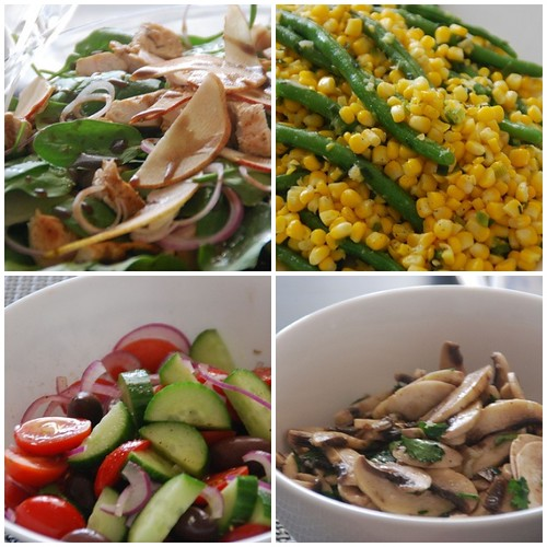 Mother's Day Salads