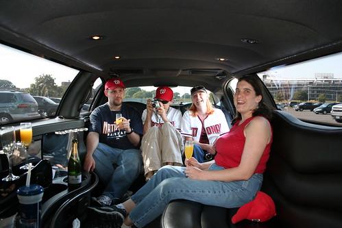 RFK lot 8 limo tailgate
