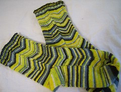 Chevron Trekking socks