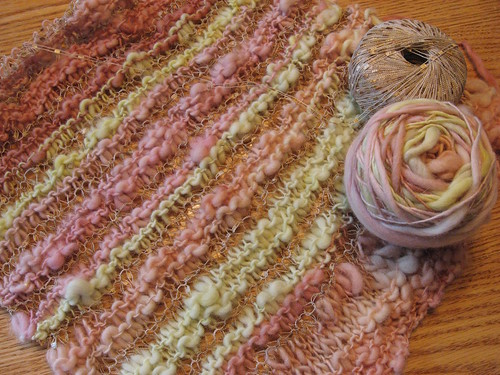 Handspun wrap project