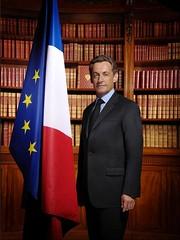 FRANCE/Nicolas Sarkozy-portrait officiel du Président di dd2g