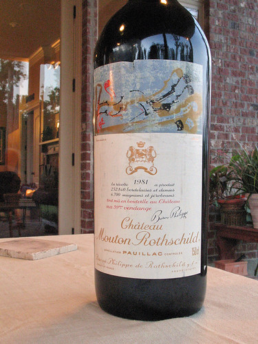 1981 Chateau Mouton Rothschild