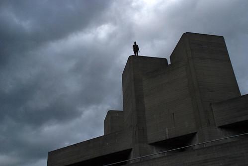 El cielo sobre Londres. Antony Gormley.
