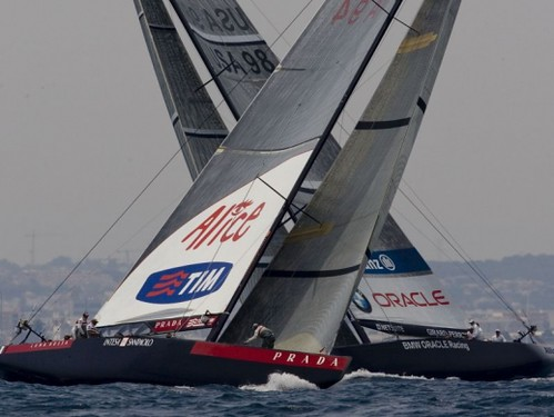 Oracle vs Luna Rossa