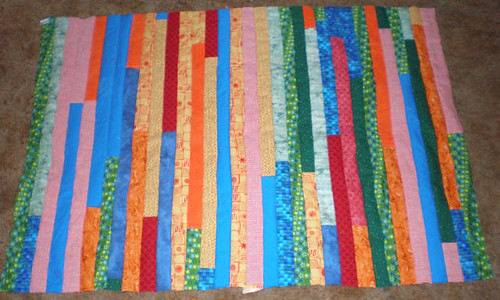 Main part of the quilt top
