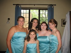 bridesmaids (ashglunk13) Tags: bluedress bluegown