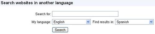google cross language information retrieval clir