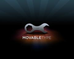 Обои на рабочий стол с символикой Movable Type