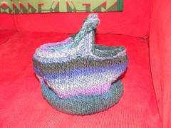 Moebius Basket pre-felting