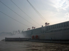 Power Line (yuan2003) Tags: china three construction power dam line  gorges