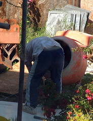 Workmen 0200 - Workmen continue building next door (marmaset) Tags: man male men home sunshine work garden real workers scaffolding workmen lads masculine cement ripped young craft tshirt plaster jeans shade lad worker rough mate build trade mates fit builder workman workie plasterer trademan