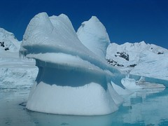 Melting ice - Antarctica