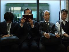 Tokyo Subway (sistereden2) Tags: japan subway tokyo globalvillage sleepers winnerflickrsweeklythemecontest globalcity lpcandid