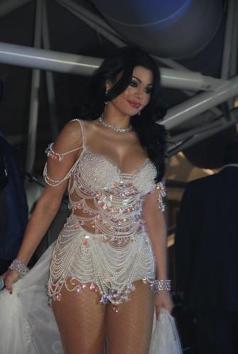 Lebanese Arab Singer Haifa Wehbe
