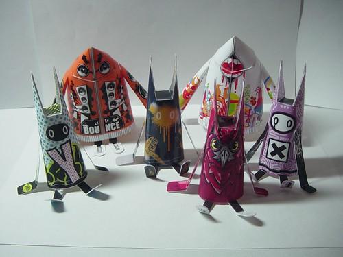 Shin Tanaka Paper Dolls Set 1 07