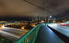Everybody Is Going Somewhere (John Westrock) Tags: seattle cityscape longexposure washington morning traffic lighttrails downtown bridge pacificnorthwest canoneos5dmarkiii canonef1635mmf4lis