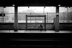 Pariz metro I (LukaBoban) Tags: pariz metro street bw g15 canon