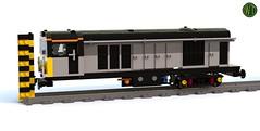02. BR class 20 v01-07 WiP (bluerender) (wes_turngrate) Tags: lego model moc brclass20 locomotive chopper train railway workinprogress wip