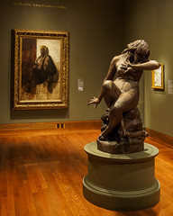 """Eve Hearing the Voice"", Moses J. Ezekiel (Joey Hinton) Tags: olympus omd em1 cincinnati art museum mft m43 microfourthirds 1240mm f28"