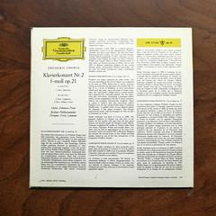 Backside  Chopin - Piano Concerto No.2 op.21 - Stefan Askenase Piano, Berliner Phil., Fritz Lehmann, DGG LPE 17 174, 10 inch, 1966 (Piano Piano!) Tags: lprecordalbumcoverartsleeve12inch vynilvinyl backsidechopinpianoconcertono2op21stefanaskenasepiano berlinerphil fritzlehmann dgglpe17174 10inch 1966