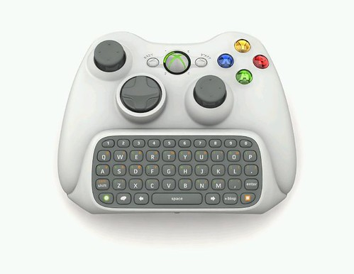 Xbox 360 qwerty keyboard controller