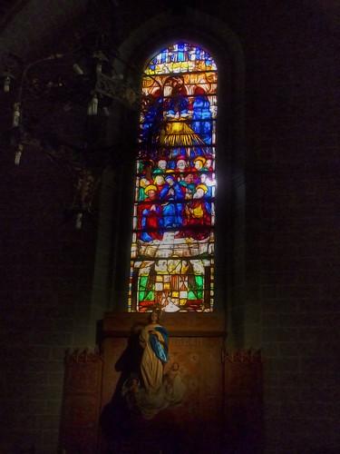 Vidrieras en la Catedral de Toledo
