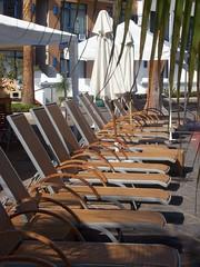 Pool Chairs (Calsurferboy) Tags: hotel chairs empty resort mazatlan elcid poolchairs elcidmarina
