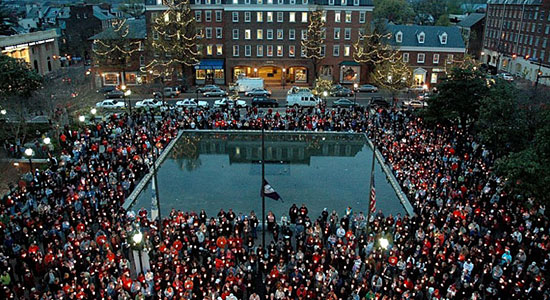 Memorial service for victims of the Virginia Tech massacre