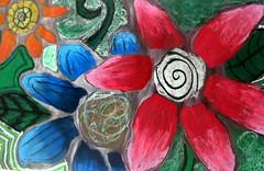 4th/5th grade flowers (artsy_T) Tags: flowers art students kids kidart oilpastels elementary masterpieces dothesekidsrockorwhat imsoproudottheselilguys