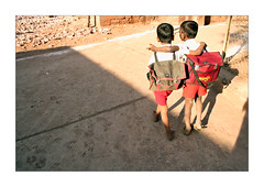 Wings - Badami (Elishams) Tags: school india children indian traditional culture karnataka indianarchive badami southindia