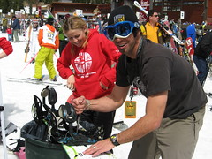 Keppy and Jodie Thring 07 USASA NATIONALS (originalgimp) Tags: by snowboarding photo kevin ride iraq lucas snowboard disabled athlete veteran handicap rider snowboarder challenge physical amputee prosthetic wsf shredder disability adaptive csf shred aas physically fakeleg pegleg narly grossi orthotic usasa adaptiveskiing adaptiveactionsports adaptivesnowboarding westenbarger originalgimp twsnow shredstick dsusa