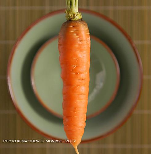 The Magic Floating Organic Carrot