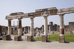 Roman Forum in Pompei