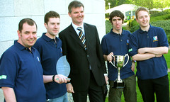 Imagine Cup Ireland - winning team from NUI Maynooth
