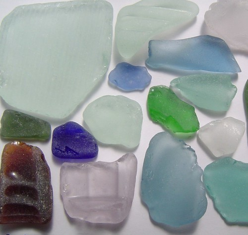 seaglass colours