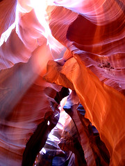 Enter Here (Abizeleth) Tags: arizona southwest rock bravo rocks july2005 az page fv10 oldpictures slotcanyon antelopecanyon americansouthwest morerocks corkscrewcanyon pageaz blueribbonwinner upperantelopecanyon supershot magicdonkey abigfave anawesomeshot diamondclassphotographer flickrphotoaward herowinner