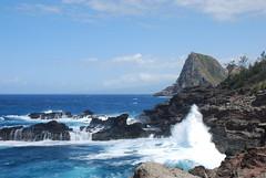 West Maui Coastline (bruzasd) Tags: hawaii maui iaoneedle nakaleleblowhole olivinepools westmaui singlelaneroad