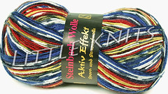 Steinbach Wolle Aktiv Effekt Sock Yarn at Little Knits