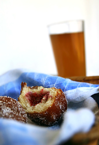 Raspberry Doughnuts & Mead