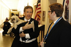 Rep. Mark Kirk and Danny Chapman at NLLD 2007